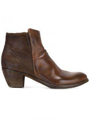 Ботинки Godard Officine Creative. Цвет: коричневый
