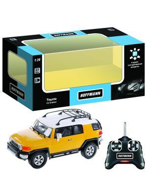Машина р/у Toyota FJ Cruiser 1:24 HOFFMANN. Цвет: желтый