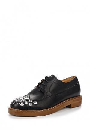 Ботинки MM6 Maison Margiela. Цвет: черный