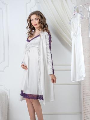 Сорочка Hortensia Nid d'Ange. Цвет: молочный