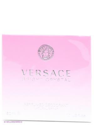 Дезодорант спрей  Versace Bright Crystal. Цвет: прозрачный