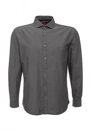 Рубашка Strellson. Цвет: серый
