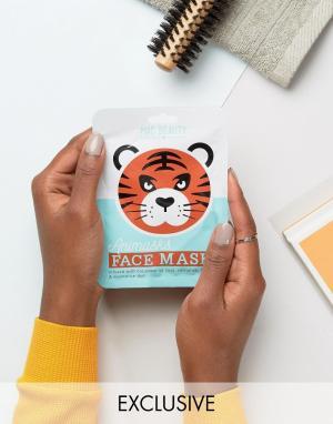 Beauty Extras Листовые маски для лица в виде животных ASOS. Цвет: бесцветный