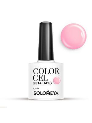 Гель-лак Color Gel Тон Raspberry SCG057/Малина SOLOMEYA. Цвет: малиновый