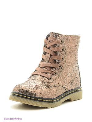 Ботинки PlayToday. Цвет: золотистый