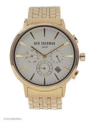 Часы Ben Sherman. Цвет: золотистый
