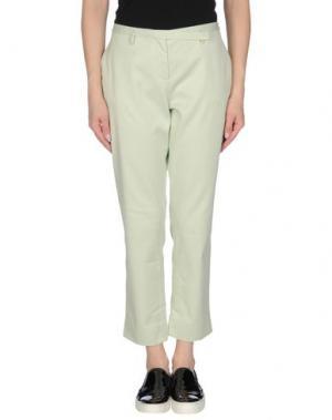 Повседневные брюки KILTIE. Цвет: светло-зеленый