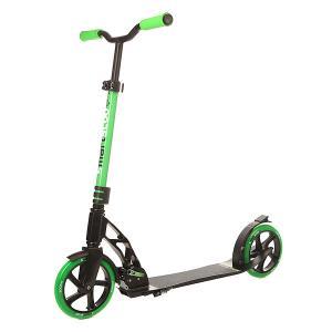 Самокат складной  Smartscoo+ 200mm Black/Green Fun4U. Цвет: черный,зеленый
