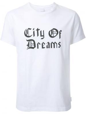 Футболка City of Dreams Cityshop. Цвет: белый