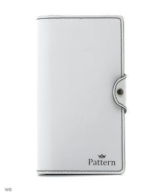 Портмоне Pattern. Цвет: белый