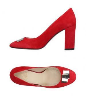 Туфли PREZIOSO. Цвет: красный