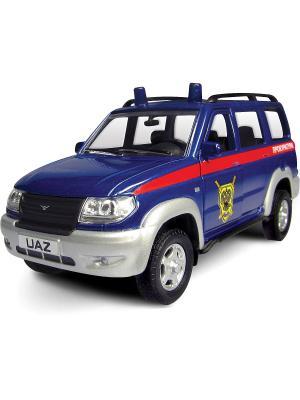 Машина UAZ PATRIOT прокуратура AUTOTIME. Цвет: синий