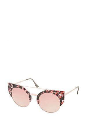 Очки солнцезащитные Topshop. Цвет: розовый
