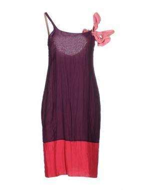 Платье до колена COAST WEBER & AHAUS. Цвет: фиолетовый