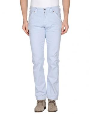 Повседневные брюки MASON'S JEANS. Цвет: небесно-голубой