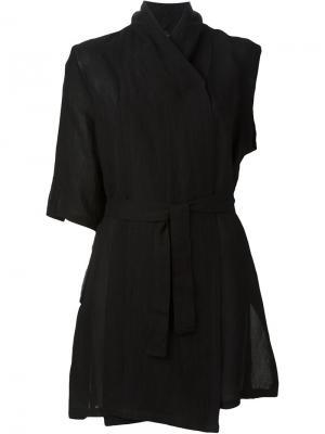 Куртка без рукавов Lost & Found Ria Dunn. Цвет: чёрный