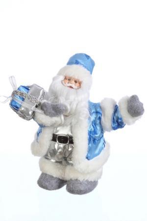 Дед мороз музыкальный, 32 см Davana. Цвет: голубой