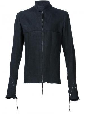 Raw edge jacket Ma+. Цвет: чёрный