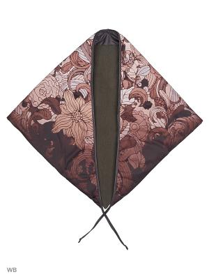 Платок Mascotte. Цвет: коричневый