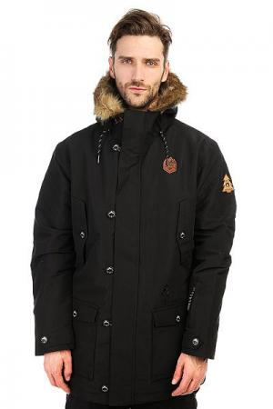 Куртка парка  Hudson Black Picture Organic. Цвет: черный