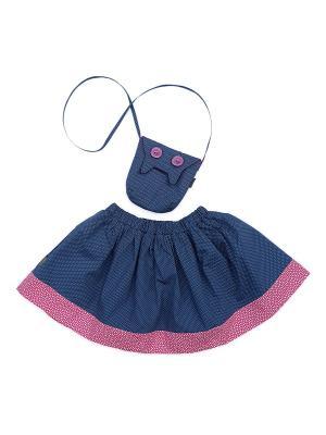 Комплект Туту и Тото Sardina Baby. Цвет: серо-голубой, розовый