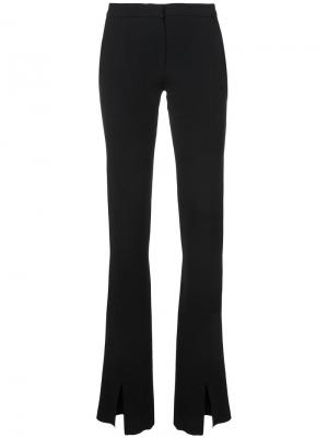 Front slits trousers Jeffrey Dodd. Цвет: чёрный