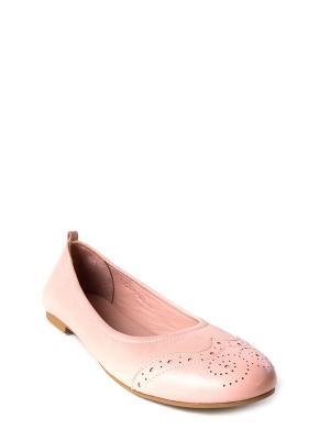 Балетки MILANA. Цвет: розовый