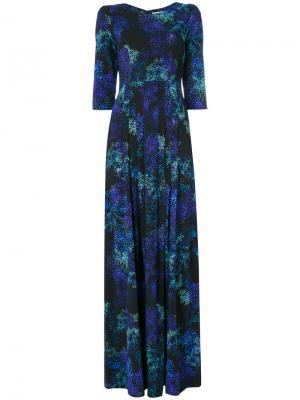 Макси платье Camelot Goat. Цвет: синий