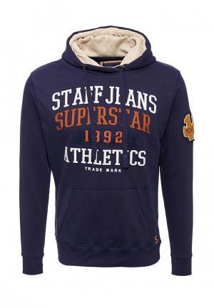 Худи Staff Jeans & Co.. Цвет: синий