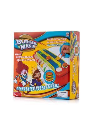 Игра Fotorama Burger Mania интерактивная. Цвет: желтый