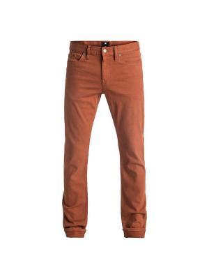 Джинсы DC Shoes. Цвет: коричневый