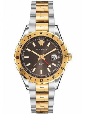 Часы Versace. Цвет: коричневый