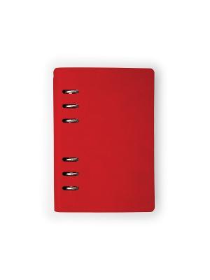 Ежедневник, а5- firenze Bruno Visconti. Цвет: красный