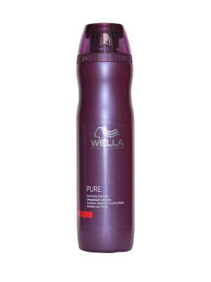 Wella Balance PURE Очищающий шампунь 250 мл Professional. Цвет: прозрачный