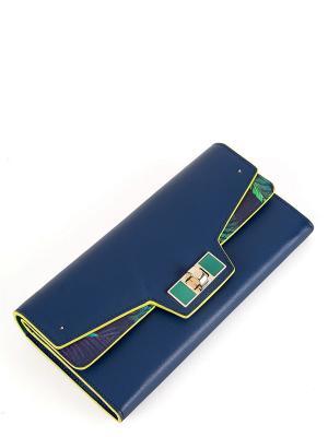 Кошелек Eleganzza. Цвет: синий, желтый, зеленый