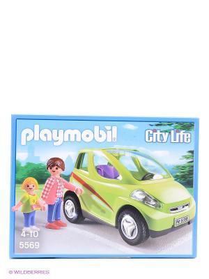 Конструктор Городской автомобиль Playmobil. Цвет: салатовый