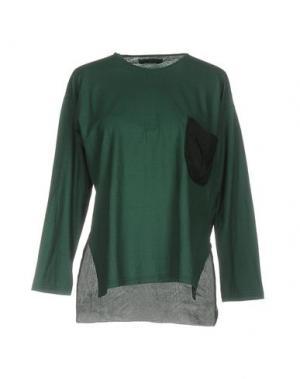 Футболка ALMERIA. Цвет: зеленый