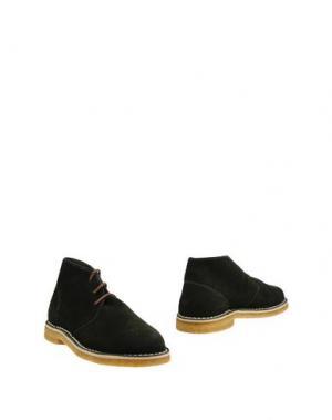 Полусапоги и высокие ботинки DIEMME. Цвет: темно-зеленый
