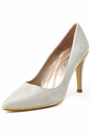 Туфли-лодочки Rosa rot. Цвет: light grey