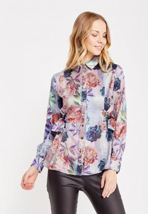 Блуза LOST INK. Цвет: разноцветный