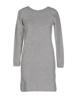 Короткое платье GAT RIMON. Цвет: светло-серый