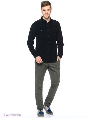 Рубашка Colin's. Цвет: темно-синий