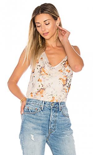 Блузка la lady Haute Hippie. Цвет: белый