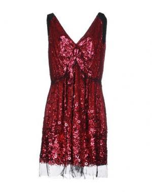Короткое платье MARC JACOBS. Цвет: фуксия