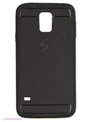 Чехол для Samsung S5 JD.ZARZIS. Цвет: черный
