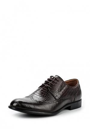 Туфли Instreet. Цвет: коричневый