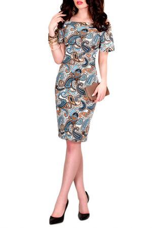 Платье MONT PELLIER. Цвет: лазурный