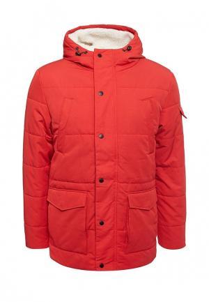 Куртка утепленная Burton Menswear London. Цвет: красный