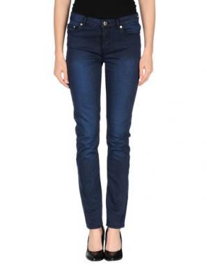 Повседневные брюки BLK DNM. Цвет: темно-синий