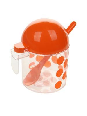 Сахарница Migura. Цвет: оранжевый